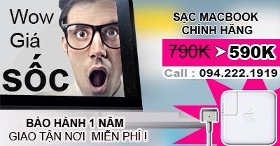 Chuyên Bán Sạc macbook zin giá rẻ giao tận nơi tại tphcm