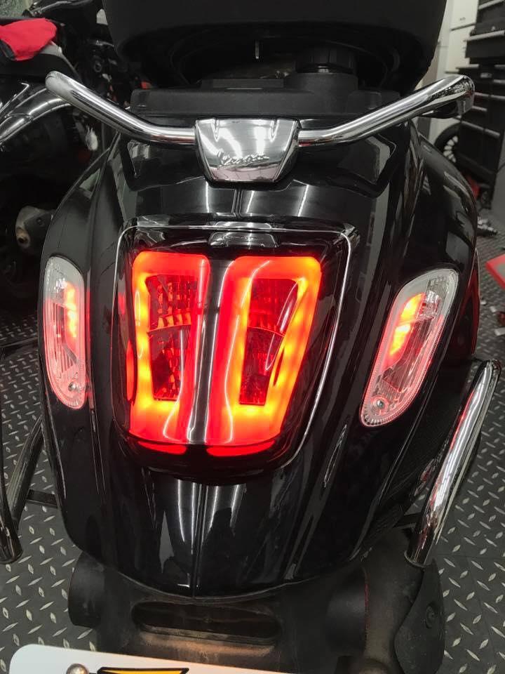 Giá độ thay bóng đèn led cho xe vespa vespa Sprint Lx S Primavera GTS tphcm
