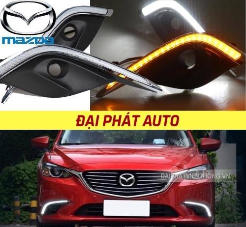 034 Đèn led gầm siêu sáng cho Mazda 6 2017
