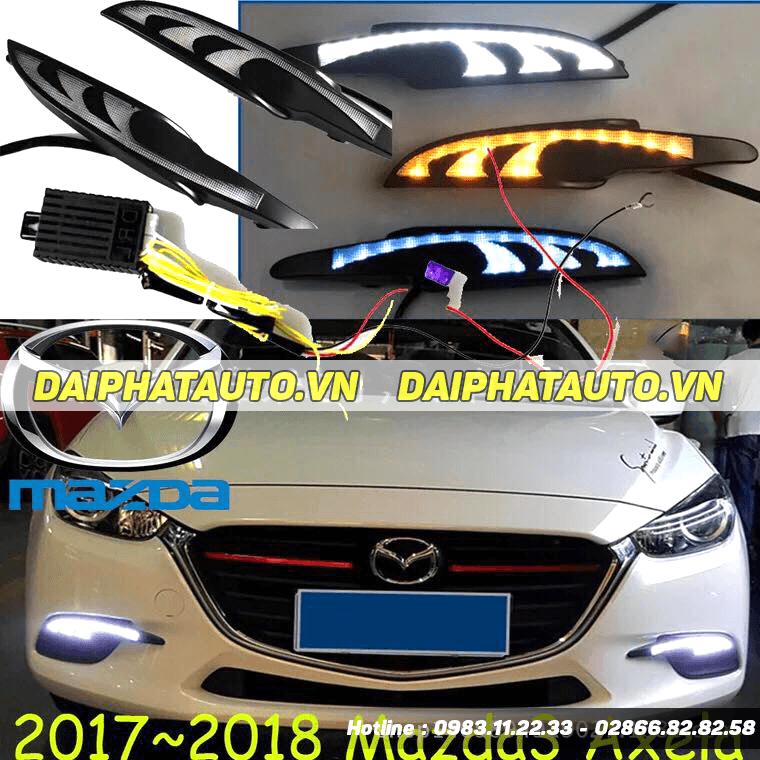 056 Đèn Led Gầm Mazda 3 - 3 chế độ