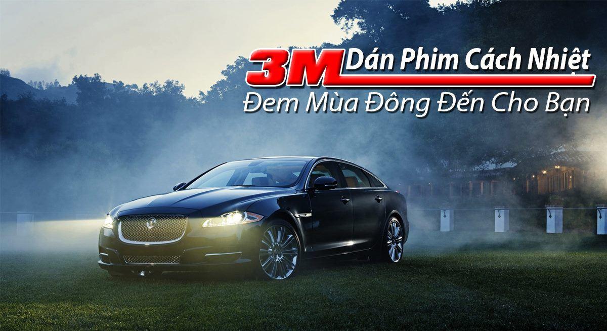 Dán phim cách nhiệt xe ô tô chống nóng tốt nhất chính hãng tphcm