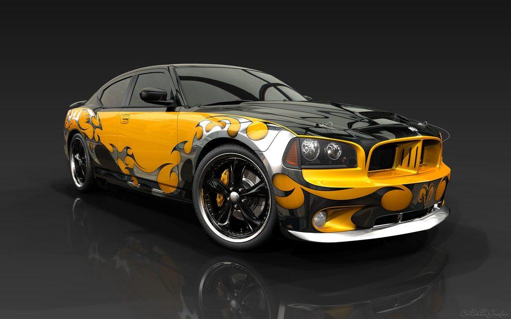 Dán tem/decal 3D xe ô tô cực chất – Thú vui mới cho chủ xế sành điệu