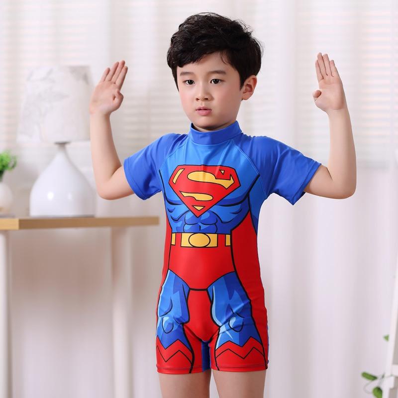đồ bơi trẻ em nam siêu nhân chữ s