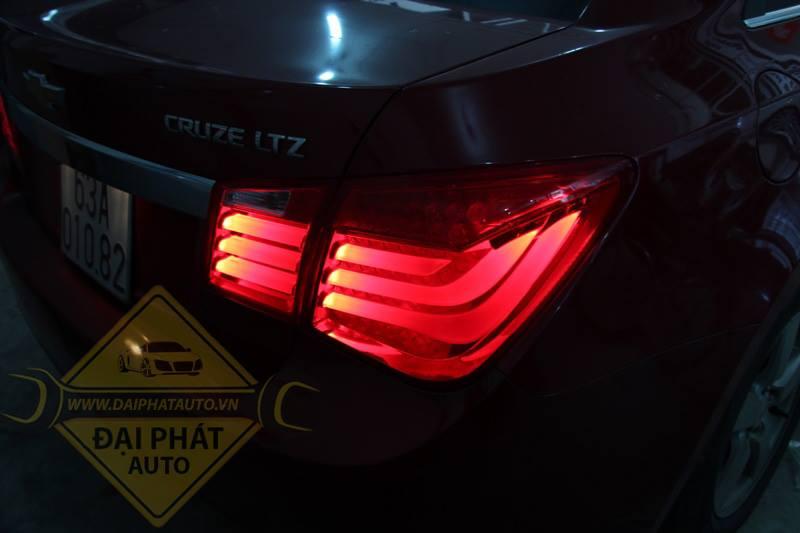 Mẫu độ đèn xe Chevrolet Cruze siêu đẹp
