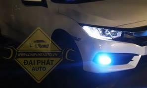 Mẫu độ đèn xe Honda Civic siêu đẹp