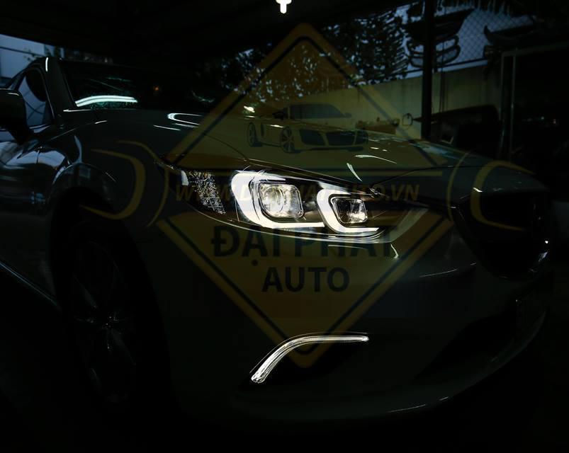 Mẫu độ đèn xe Mazda 3 siêu đẹp