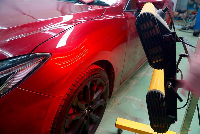 Quy trình phủ ceramic cho ô tô bao nhiêu bước?