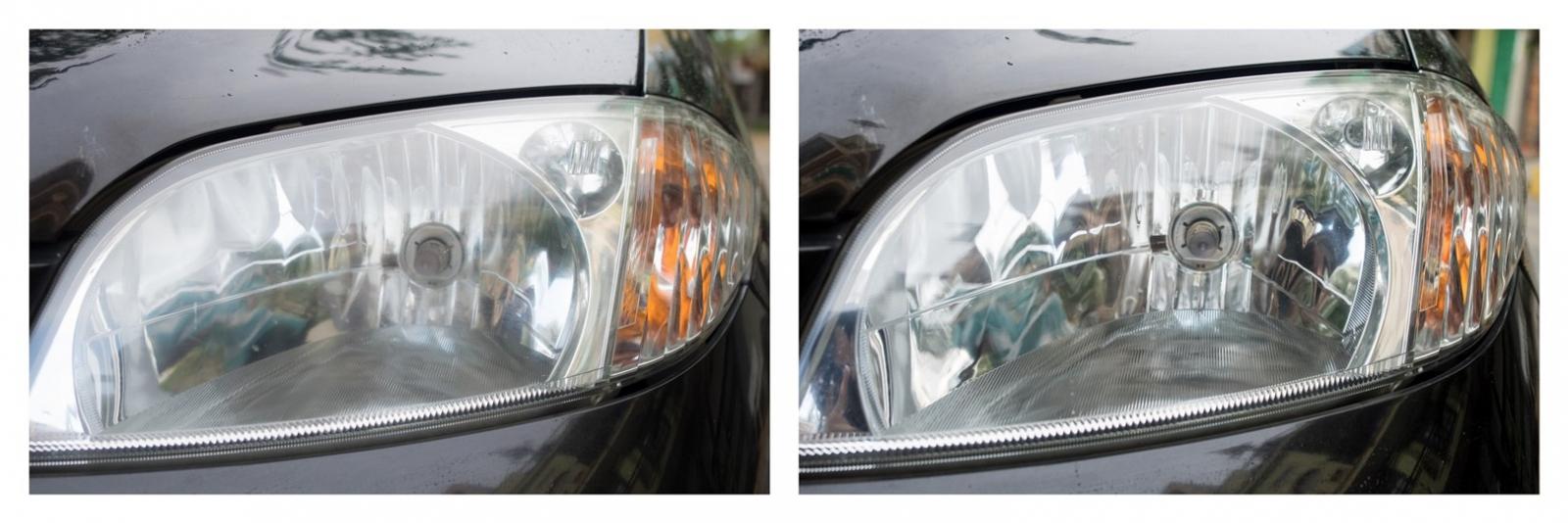 Kết quả hình ảnh cho đèn pha ô tô bị hấp hơi nước