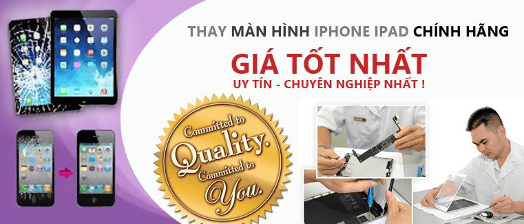 thay màn hình iphone zin chính hãng giá rẻ ở trại tphcm