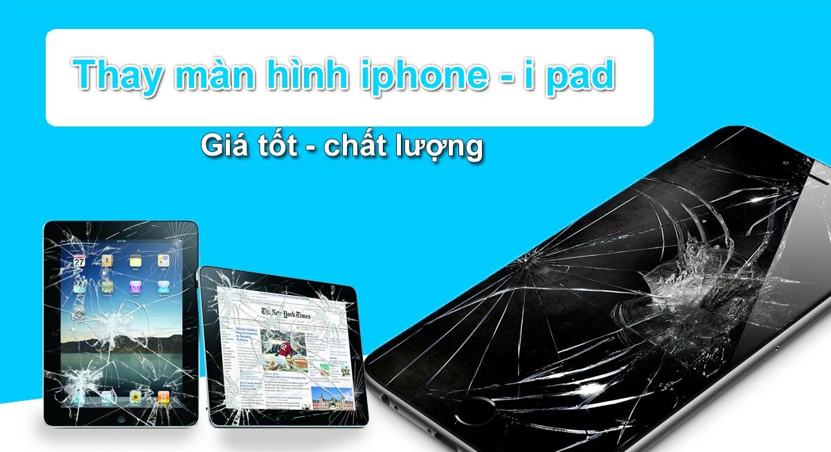 Thay man hinh iphone 7 6s 6 plus 5 re nhat tai tphcm