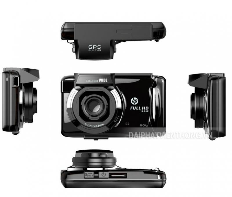 022 camera hành trình xe hơi HP - F800G (cảm ứng)  giá: 3,400,000 Vnđ