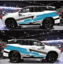 Dán tem decal thiết kế Toyota Fortuner 2020 Sport