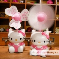 Quạt usb mini Hello kitty 004