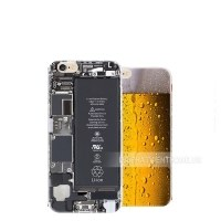083 ốp lưng iphone 6s hình trong suốt, beer