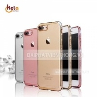 130 Silicon iphone 6 plus màu viền hột