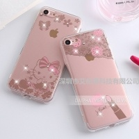 156 silicon iphone 6 plus trong hello kitty