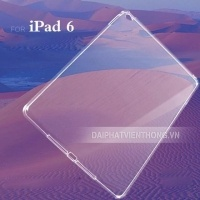018 ốp lưng ipad 6 air 2 silicon trong suốt